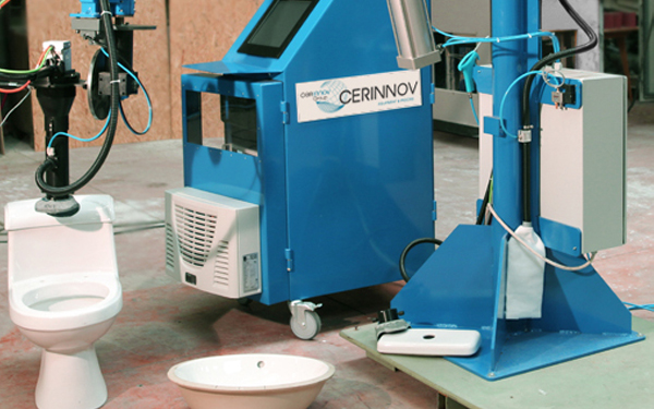 Two CERINNOV Laser machines for a Sanitaryware leader in Asia