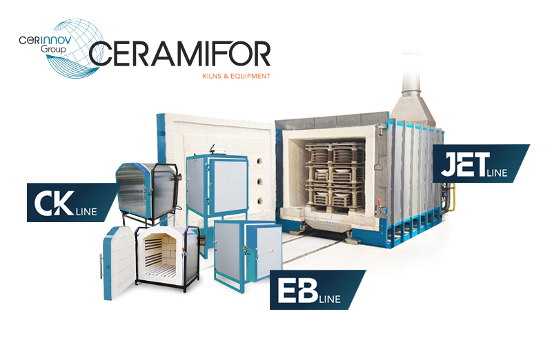 CERAMIFOR Standard kilns for every production needs