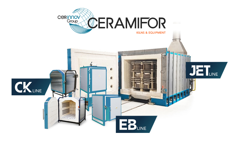 new ceramifor roller kiln for ceraquitaine