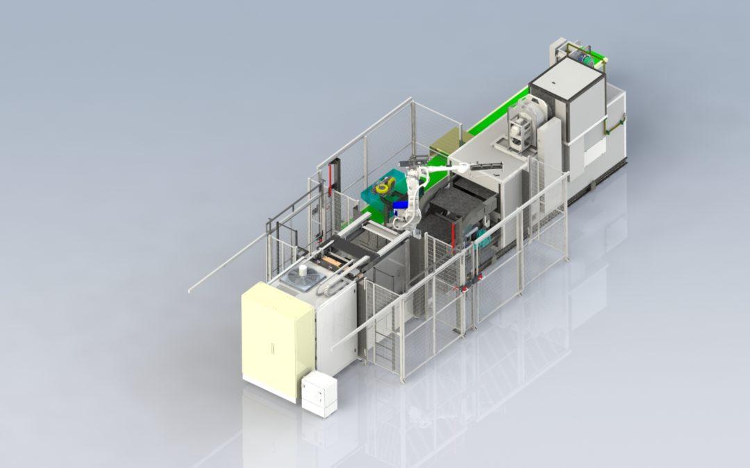 Cerinnov Group Latest Generation of Robotized High-pressure Casting Machine