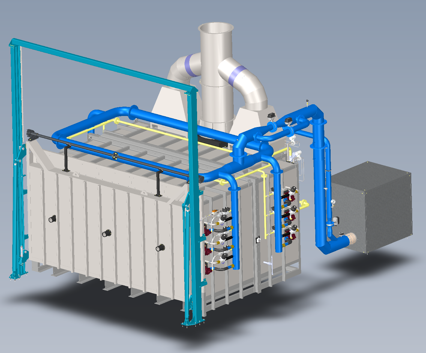 3D view furnace ceramifor